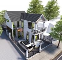 Thiết kế nhà hai tầng với không gian thoáng đãng